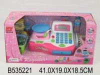 Касса эл. с весами, сканером и набором продуктов.