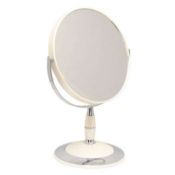 Зеркало b7 808 per/c wpearl наст. кругл. 2-стор. 5-кр.ув.18
