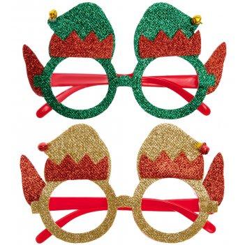 Xm-227 очки карнавальные праздничный привет