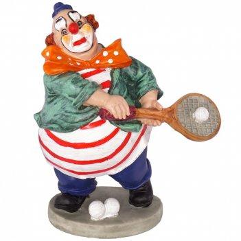 Фигурка декоративная клоун, l14,5w9,5h16,5см
