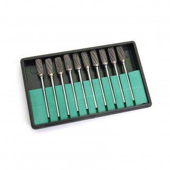 Набор насадок для коррекции ногтей jessnail cb-200, 10 шт