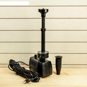 Фонтан для садового водоёма led-5800fp, 40 вт, h = 3 м, 3500 л/ч, led 30 л