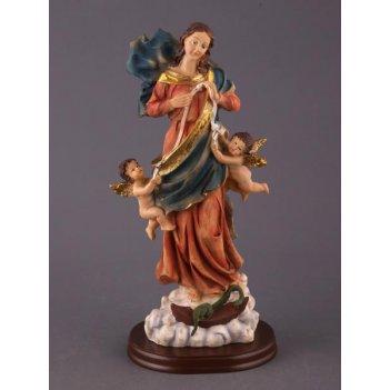 Фигурка дева с ангелочками высота=30 см