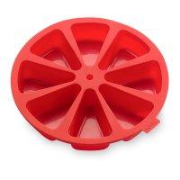 Форма для выпечки, материал: силикон, диаметр: 26,5 см, высота 4,5 см, цве