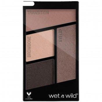 Палетка теней для век wet n wild color icon eyeshadow quad, тон e337