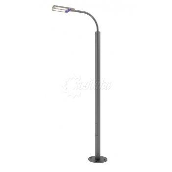 Стальной фонарный столб «техно-с» со светильником 3,2 м.(33 вт)