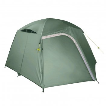 Палатка btrace point 3, двухслойная, трёхместная, цвет зелёный