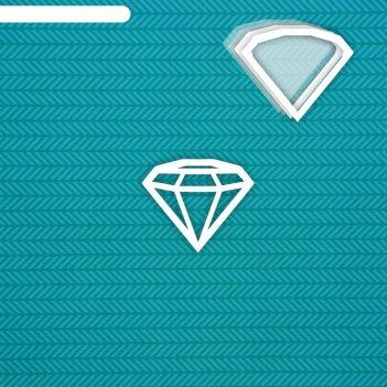 Шейкер бриллиант (маленький) 6,6 х 5,5 см, набор 5 деталей