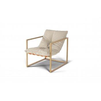 Лион кресло садовое, коричневое