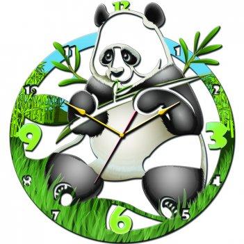 Часы настенные tiarella панда