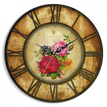 Настенные часы tiarella ностальгия