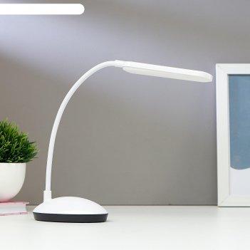 Лампа настольная 16104/1 led 2вт usb акб 3 режима белый 6,3х11х39 см
