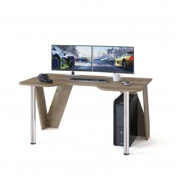 Компьютерный стол «кст-116», 1500 x 900 x 750 мм, цвет дуб делано