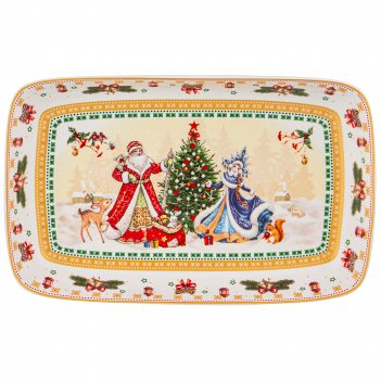 Блюдо christmas collection 30*19 см