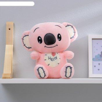 Мягкая игрушка коала цвет микс