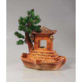 Настольный фонтан «пагода у сосны»