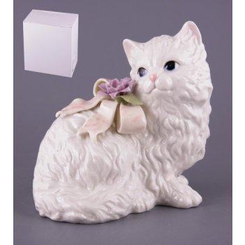 Статуэтка кошкавысота=17 см длина=18 см