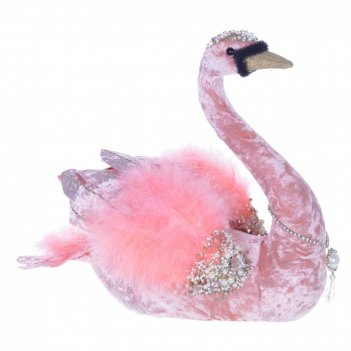 Фигурка декоративная лебедь, l30 w21 h28 см