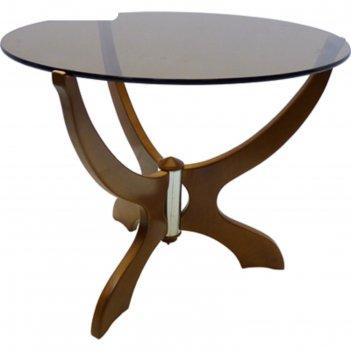 Стол журнальный лорд 2, со трт ( триплекс,4+4), 610х610х500 мм