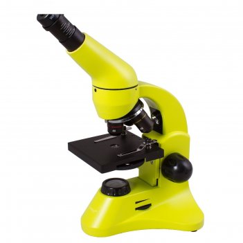 Микроскоп levenhuk rainbow 50l plus lime/лайм