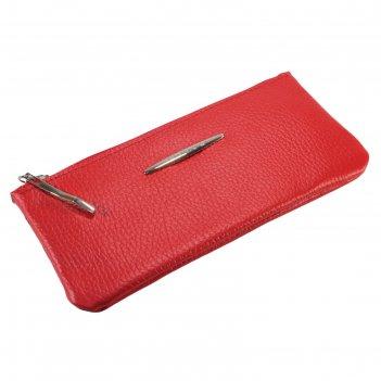 Кошелёк женский, отдел для купюр, для кредитных карт, внешний карман, цвет