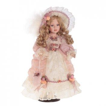 Фарфоровая кукла евгения, 40 см
