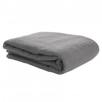 Полотенце банное essential, размер 90х150 см, цвет серый
