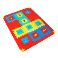 Мягкий развивающий коврик, цифры, 12 элементов