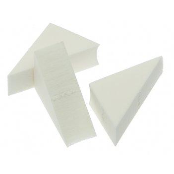 Губка макияжная dewal треугольная, 8 шт.