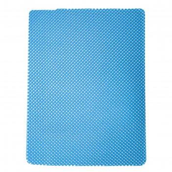 Коврик кухонный универсальный (синий)linea