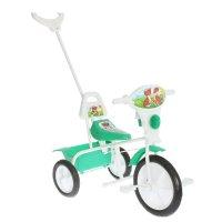 Велосипед трехколесный  малыш  09/2п, цвет: зеленый