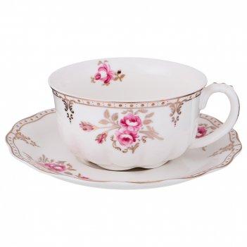 Чайный набор на 1 персону завтрак у королевы 2пр. 300 мл. (кор=24наб.)