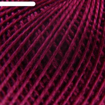 Нитки вязальные ирис 150м/25гр 100% мерсеризованный хлопок цвет 1206