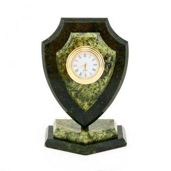 Часы сувенирные щит малый змеевик