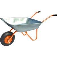 Тачка садовая,  одноколесная (груз/п 80 кг, объем 75 л, пневмоколесо 330*1
