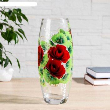 Ваза розы  26х10,5 см, d-7,5