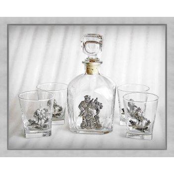 Набор  для виски 377«удачная охота»