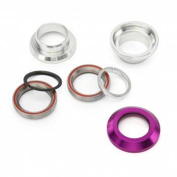 Рулевая колонка fox стандарт 1 1/8 silver/purple