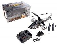 Вертолет радиоуправляемый штурмовик, световые и звуковые эффекты