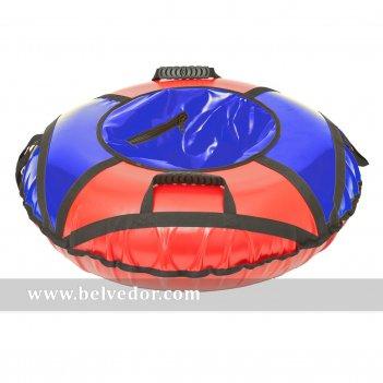 Тюбинг: ватрушка для катания 95см красно-синий
