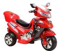 Мотоцикл эл., красный, свет, mp3, аккум 6v/4.5ah,12w