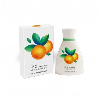 Туалетная вода женская korea orange dream, 100 мл