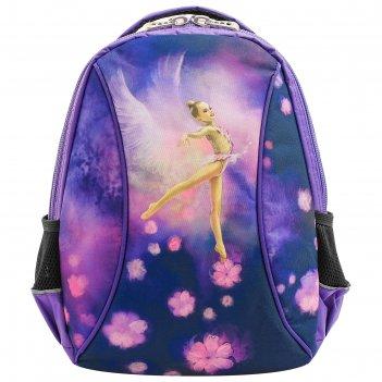 Рюкзак для гимнастики 216 м-033, фиолетовый/сиреневый