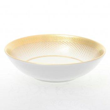 Набор розеток falkenporzellan rio white gold 11см (6 шт)