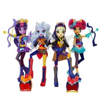 My little pony equestria girls. кукла шедоуболт с аксессуарами в ассорт