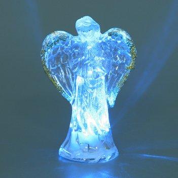 """Фигурка """"ангелочек"""" с подсветкой высота=9 см."""