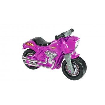 Ор504 каталка-мотоцикл беговел racer rz 1 розовый