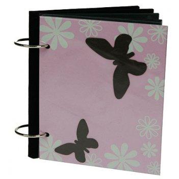 Фотоальбом бабочки на 18 фото 15*10см