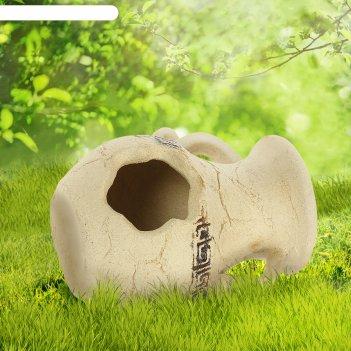Садовая фигура афина амфора шамот