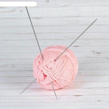 Спицы вязальные прямые, тефлоновые, 3 мм., 1 пара